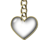 chained heart line