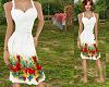 TF* White & Floral Dress