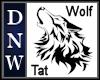 DNW Wolf Tattoo