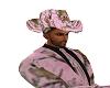 PINK CAMO COWBOY HAT