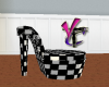 Racing Checker Heel