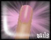 -Jez- Pink short nails