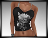 Butterfly and Skull Top