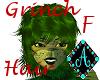 Ama{Grinch Hair female