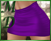 Purple Mini Skirt