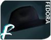 ♠ Raven   Fedora Hat