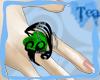 {Tea}Emerald Heart Ring