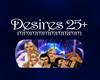 Desires 25+