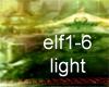 elf village gate light