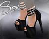 *S Candy Heels Black