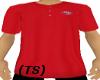 (TS) Red Coogi Polo Tee