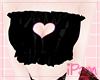 p. heart black top