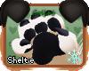 *S* Black Hand Paws M