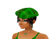 tartan green hat