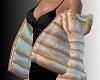SL Poofy Coat Gold