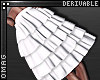0 | 5 Tier Ruffle Skirt