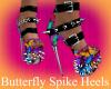 Butterfly Spike Heels