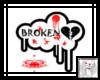 !BB! broken heart sign