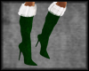 Christmas Boots Green
