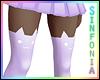 Purple Kitty Socks