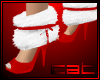 Red Holiday Heels