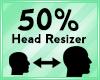 Head Scaler 50%