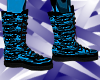 BlueCamoBoots Small