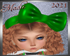 !a Green Winter Bow