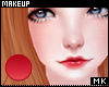 金. Lipstick Red