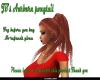 JB's Auburn ponytail