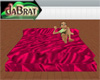 ~MDB~ RED SILK POSE BED