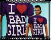 I Luv Bad Girls - Purple