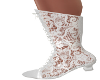 Victorian Lace-White