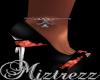 !Miz Black Rose Anklet