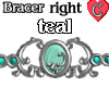 Bracer1 Teal RIGHT
