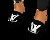 LV slippers-Black