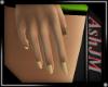 *AJ*Lush Hands gold nail