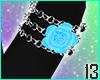 Crow Flower Bracelet
