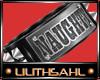 LS~Naughty Armband (R)