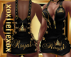 [L] ROYAL Gold Dress