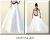 (TB) white long skirt