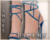 [Is] Deluxe Blue Sandals