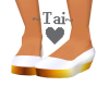 ~Tai~ Thick Gold & White