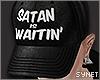 Satan snapback