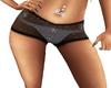 ~S~ Black Glitter Shorts