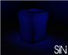 Navy Lighted Cube Seat