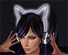 *J* Purple Cat Headphone