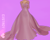 𝓔. Formal Gown. Pink