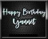 Happy Birthday Yannet