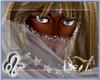 ^L~ Silver Gry Silk Veil